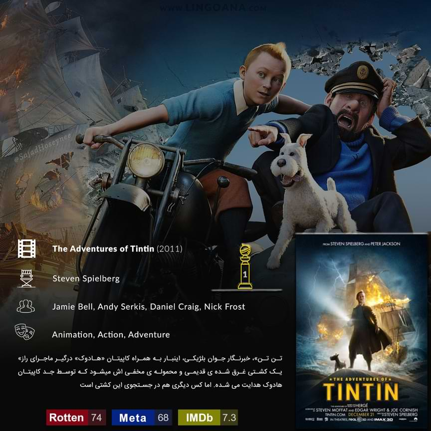 دانلود فیلم The Adventures of Tintin